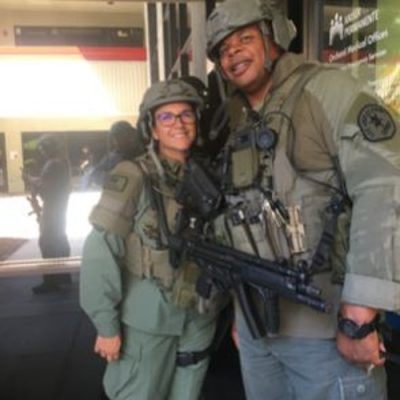 Member Of the Bomb Squad And A K-9 Swat Team