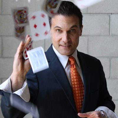Professional Magician and consultant for the stars Tony Clark